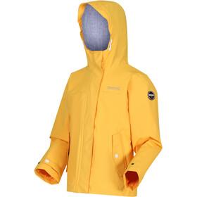 Regatta Bibiana Waterproof Shell Jacket Kids california yellow